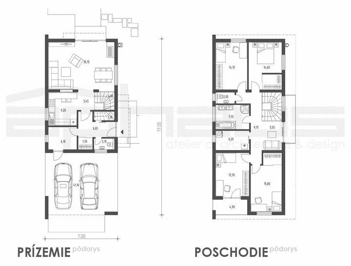 Kokyu - projekt rodinného domu - Obrázok č. 5
