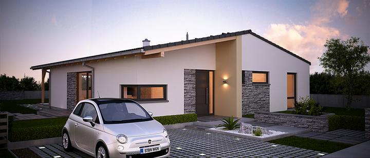 Celesta - projekt rodinného domu - Predný pohľad