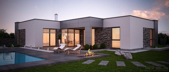 aphaus - Dahu - projekt rodinného domu