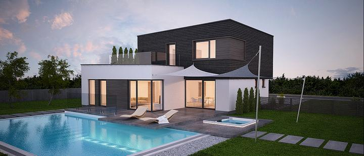 aphaus - Pipa - projekt rodinného domu