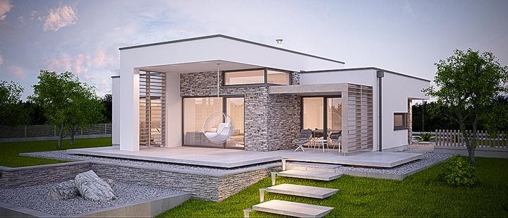 aphaus - Tible - projekt rodinného domu