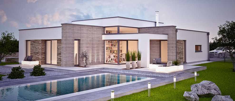 aphaus - Gralla - projekt rodinného domu