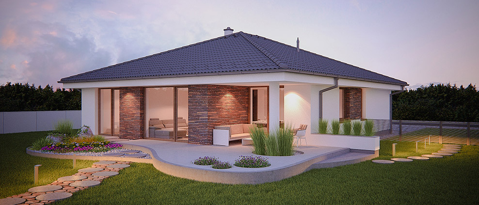 aphaus - Bugle - projekt rodinného domu