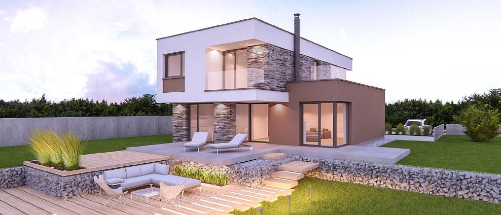 aphaus - Marimba - projekt rodinného domu