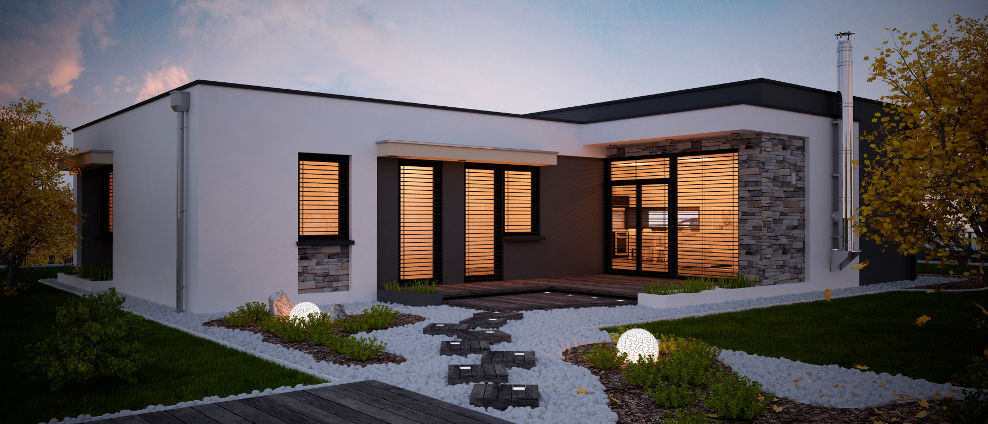 Gitaa - projekt rodinného domu - Obrázok č. 1