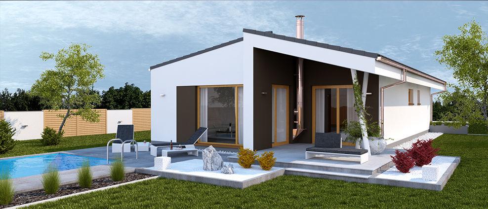 Guqin - projekt rodinného domu - Obrázok č. 2