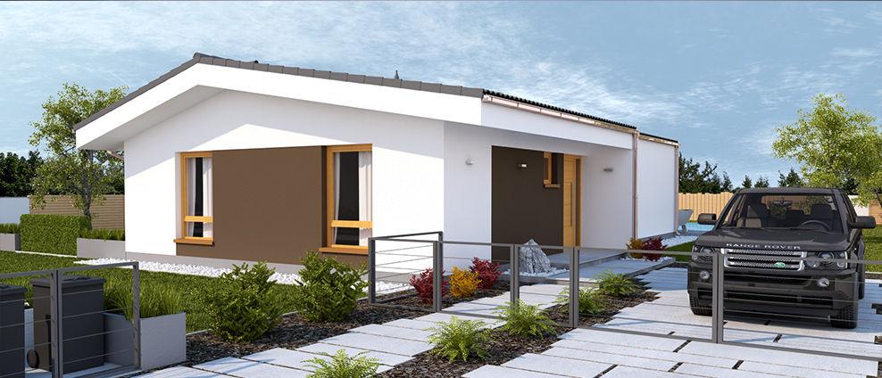Guqin - projekt rodinného domu - Obrázok č. 3