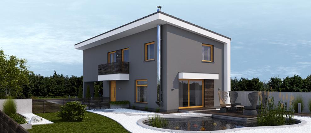 Kokyu - projekt rodinného domu - Obrázok č. 2