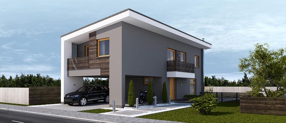 Kokyu - projekt rodinného domu - Obrázok č. 3