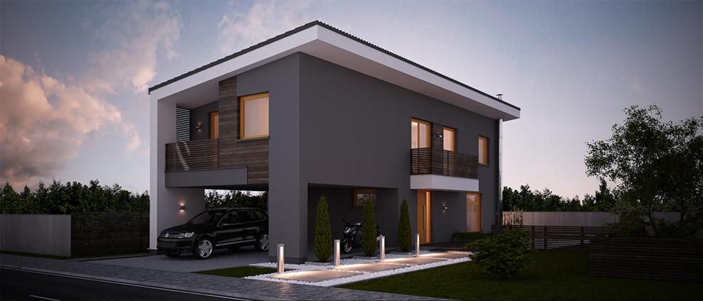Kokyu - projekt rodinného domu - Obrázok č. 4
