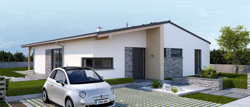 Celesta - projekt rodinného domu - Obrázok č. 2