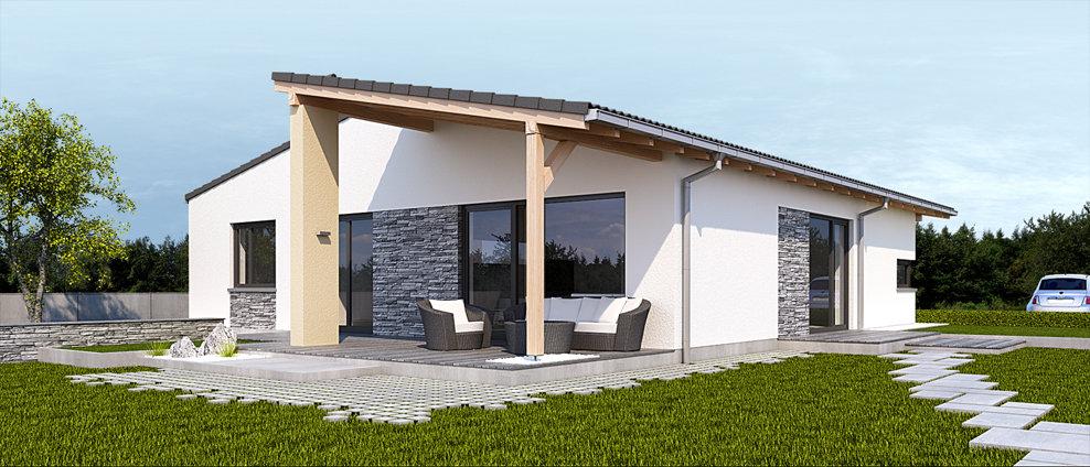 Celesta - projekt rodinného domu - Obrázok č. 4