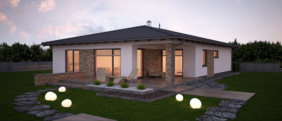 Dobro - projekt rodinného domu - Obrázok č. 1