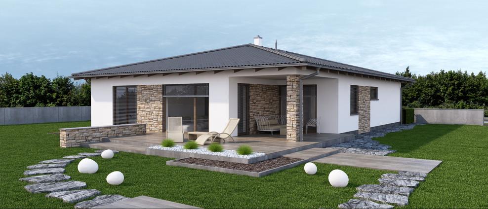 Dobro - projekt rodinného domu - Obrázok č. 2