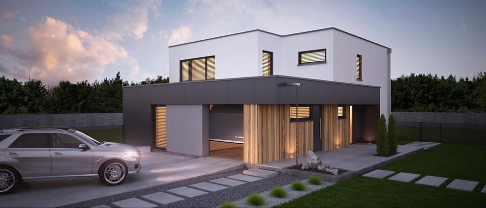 Zither - projekt rodinného domu - Obrázok č. 1