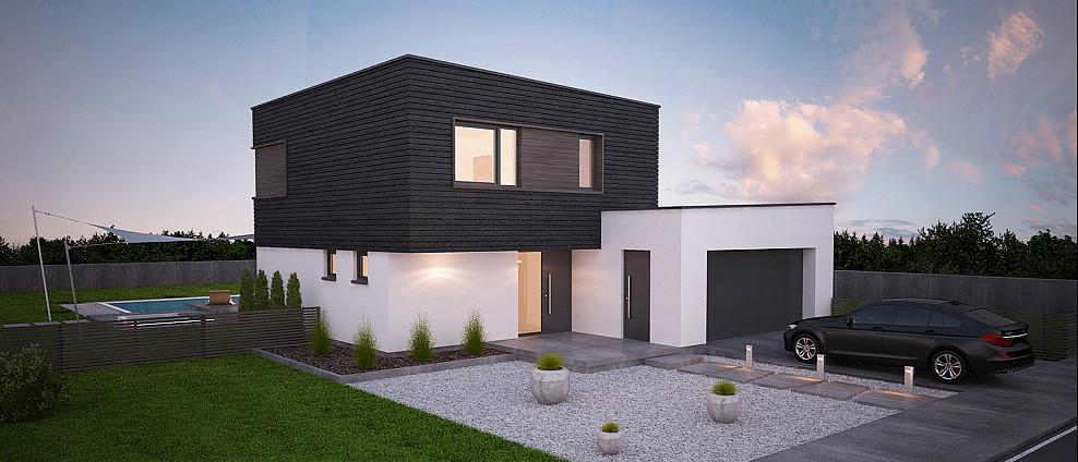 Pipa - projekt rodinného domu - Obrázok č. 3