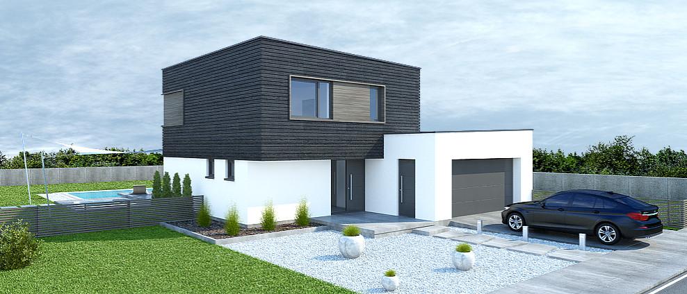 Pipa - projekt rodinného domu - Obrázok č. 4