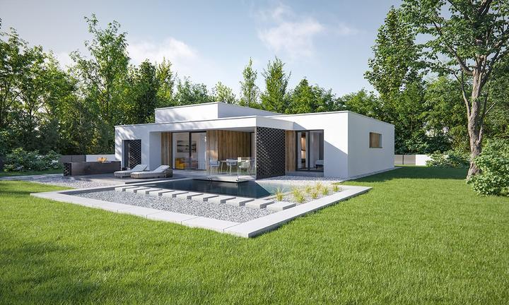 Leiqin - projekt rodinného domu - Obrázok č. 3