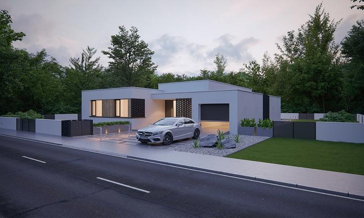 Leiqin - projekt rodinného domu - Obrázok č. 4