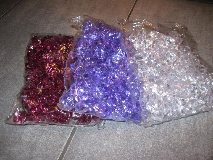 To, co je už doma - plastové krystaly