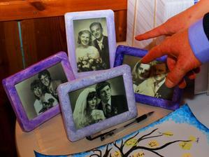 svatebí fotky rodičů a pra