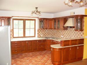 kuchynka bude mat asi takyto tvar, ale bude murovaná :) zatial moja predstava, uvidíme aká bude realita :)