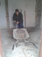 beton ide preč