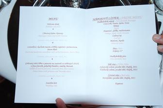 Nase svatebni menu, tak dobre jidlo jeste nikdo na svatbe nejedl!