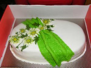 jedna z tortičiek - hotové umelecké dielo...