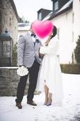 Kratkodlhe svadobne saty, 38