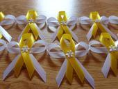 bielo-žlté pierka,