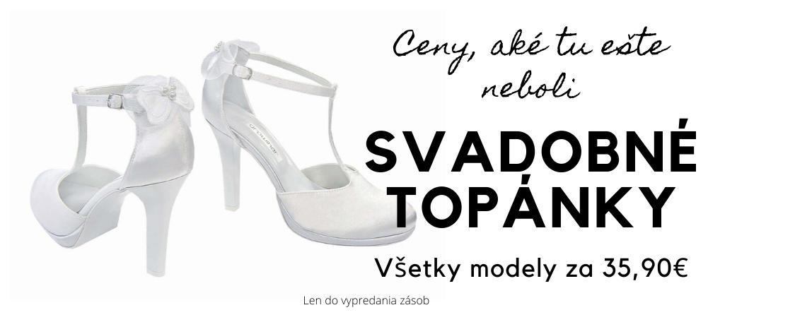 AKCIA Svadobné topánky - Obrázok č. 1