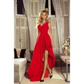 Spoločenské šaty dlhé Ines červené veľ. XS, S,