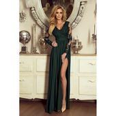 Spoločenské šaty dlhé Juliette zelené veľ. M,