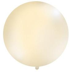 Obrí balón krémový pastelový - Obrázok č. 1