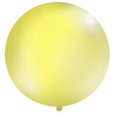 Obrí balón žltý pastelový - Obrázok č. 1