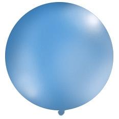 Obrí balón bledomodrý pastelový - Obrázok č. 1