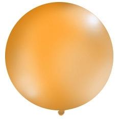 Obrí balón oranžový pastelový - Obrázok č. 1
