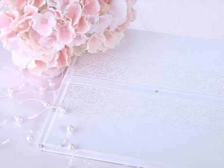 Kniha hostí biela s ornamentom - Obrázok č. 3