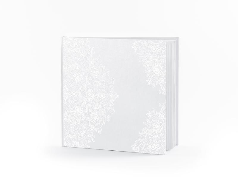 Kniha hostí biela s perleťovým vzorom - Obrázok č. 1