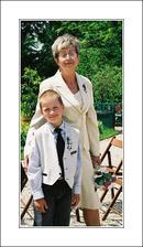 Ivánek s babičkou