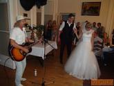 Lucia a Pavel, kaštieľ Palárikovo - Peter Nagy prekvapenie večera :)