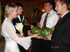 dva melouny od kolegov