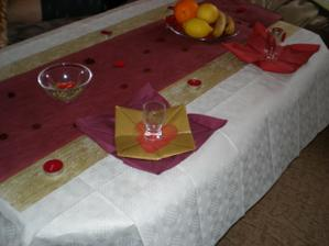 vyzdoba stolu