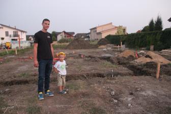 Moji chlapáci boli kontrolovať stavbu :).... samozrejmosťou boli bezpečnostné prvky :)
