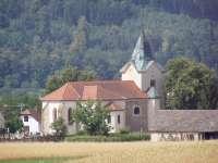 Zde bude svatna-kostel sv.Jiří v Bořitově