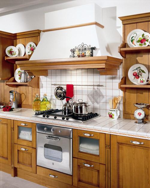 Inšpiracie do našho pidi domčeka x-) - Rustikalna kuchyna, ale bude trosku svetlejsia :-)
