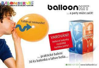 helium - bude šmoulování