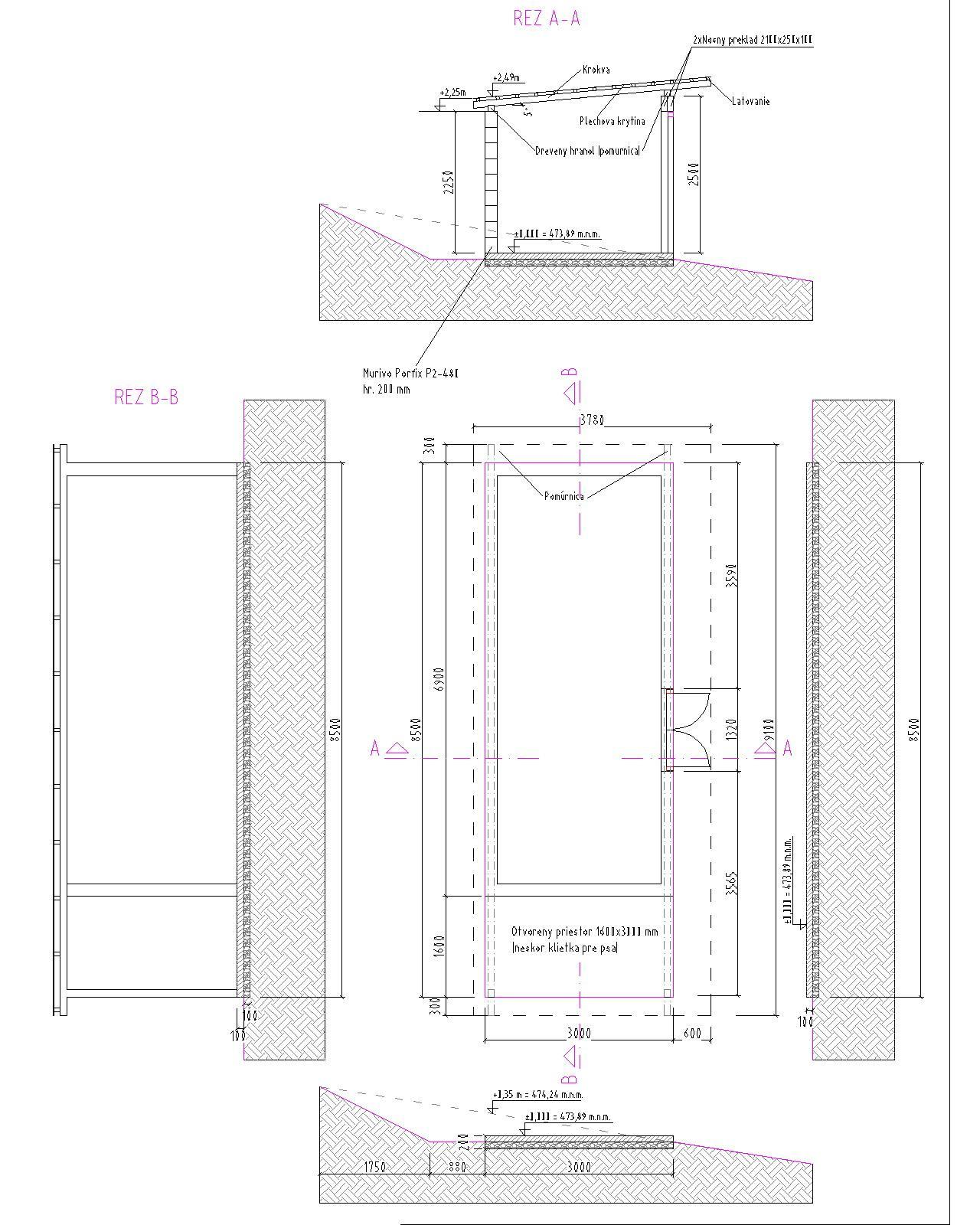 Raciodom - Spolu s výstavbou rodinného domu bude prebiehať aj výstavba záhradného domčeka na náradie