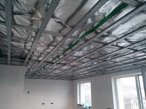 Montaz SDK konstrukcie stropu.